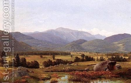 Mount Washigton Valley by Alexander Helwig Wyant - Reproduction Oil Painting