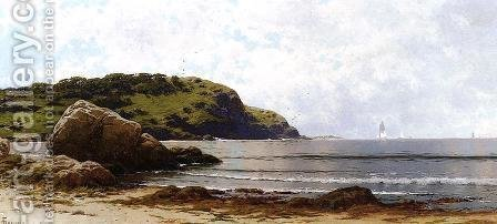 Rippling Sea, Manchester 2 by Alfred Thompson Bricher - Reproduction Oil Painting