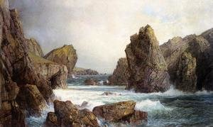 Reproduction oil paintings - William Trost Richards - Rocky Inlet