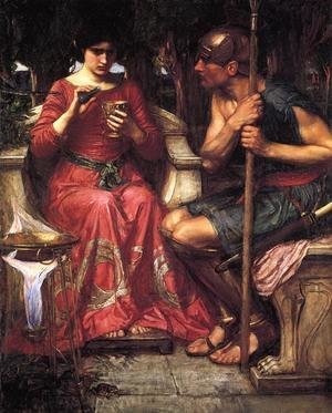 Reproduction oil paintings - Waterhouse - Jason and Medea