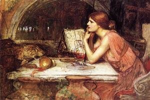 Reproduction oil paintings - Waterhouse - Sketch of Circe
