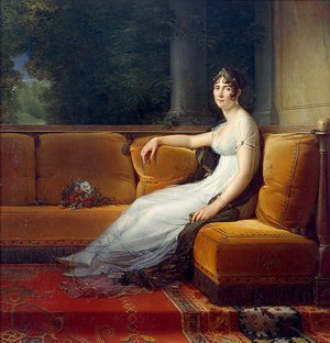 Famous paintings of Furniture: Portrait of Josephine