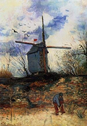 Reproduction oil paintings - Vincent Van Gogh - Le Moulin de la Galette I