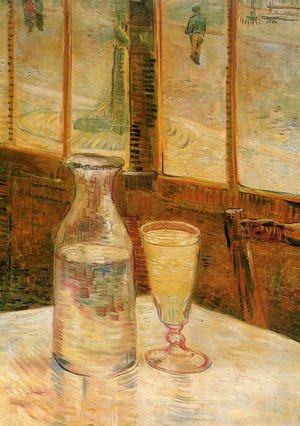 Reproduction oil paintings - Vincent Van Gogh - Still Life with Absinthe