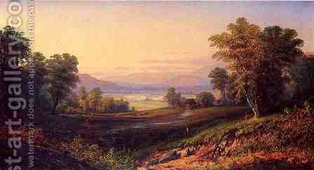 Scene near the Cherry Valley Mountains by Henry Boese - Reproduction Oil Painting