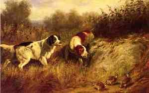 Reproduction oil paintings - Arthur Fitzwilliam Tait - A Close Point