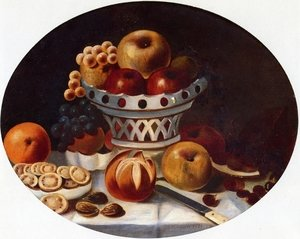 Famous paintings of Desserts: Still Life with Fruit and Nuts