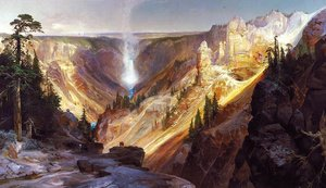 Reproduction oil paintings - Thomas Moran - Grand Canyon of the Yellowstone