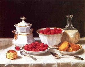 Famous paintings of Desserts: The Dessert Table