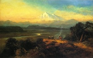 Reproduction oil paintings - Andrew Melrose - Mount Shasta, California