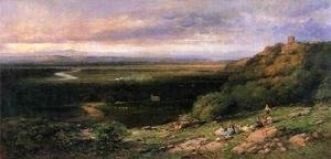 Reproduction oil paintings - Andrew Melrose - Valley of the Hackensack from the Estate of L. Becker, Esq, Union City, New Jersey
