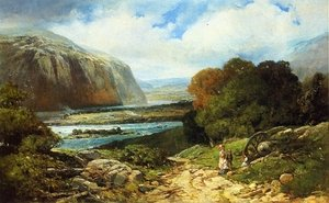 Reproduction oil paintings - Andrew Melrose - Near Harper's Ferry
