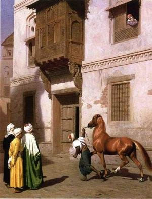 Horse Merchant in Cairo