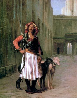 Reproduction oil paintings - Jean-Léon Gérôme - Arnaut from Cairo