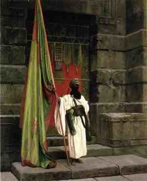 Reproduction oil paintings - Jean-Léon Gérôme - The Prophet's Standard