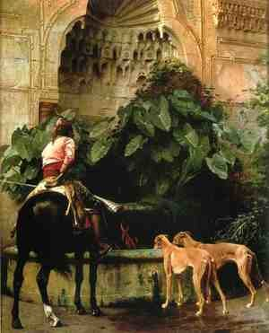 Famous paintings of Horses & Horse Riding: Home from the Hunt
