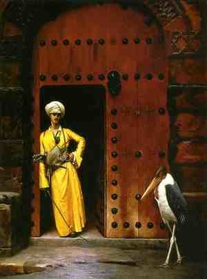 Reproduction oil paintings - Jean-Léon Gérôme - The Marabou