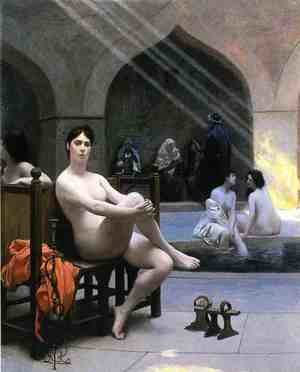 Reproduction oil paintings - Jean-Léon Gérôme - The Women's Bath