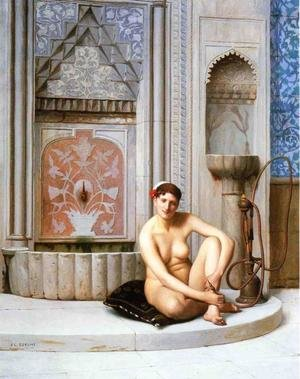 Reproduction oil paintings - Jean-Léon Gérôme - Nude