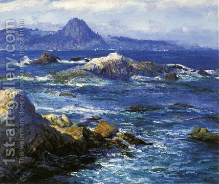Off Mission Point by Guy Rose - Reproduction Oil Painting