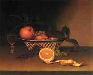 Reproduction oil paintings - Raphaelle Peale - Still Life with Oranges