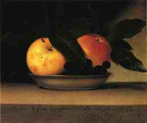 Reproduction oil paintings - Raphaelle Peale - Apples and Fox Grapes