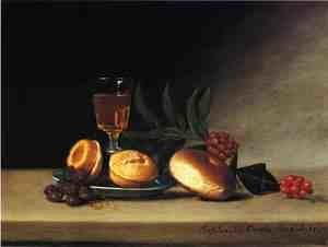 Reproduction oil paintings - Raphaelle Peale - Still Life with Wine Glass
