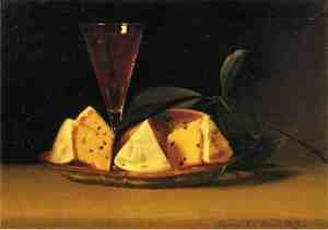 Reproduction oil paintings - Raphaelle Peale - Still Life with Raisin Cake