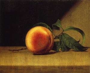 Reproduction oil paintings - Raphaelle Peale - Still Life with Peach