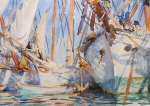 Reproduction oil paintings - Sargent - White Ships