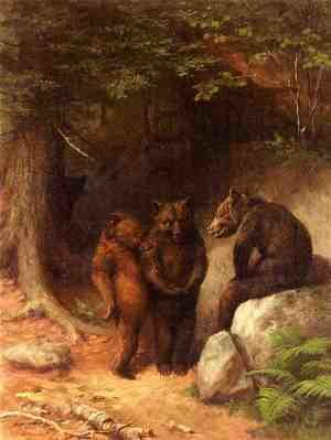 Famous paintings of Bears: So You Wanna Get Married, Eh?