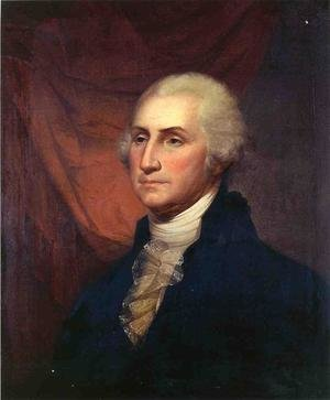 Reproduction oil paintings - Rembrandt Peale - Portrait of George Washington II