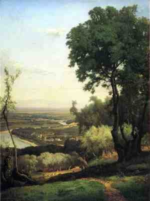 Reproduction oil paintings - George Inness - Near Perugia II