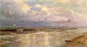 Reproduction oil paintings - William Trost Richards - Seascape V