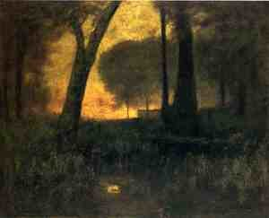 Reproduction oil paintings - George Inness - The Brook