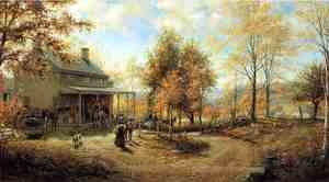 Edward Lamson Henry reproductions - An October Day
