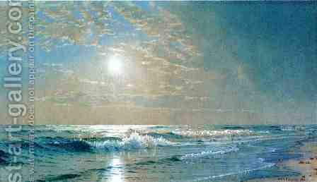 Morning at Atlantic City, New Jersey by Alfred Thompson Bricher - Reproduction Oil Painting