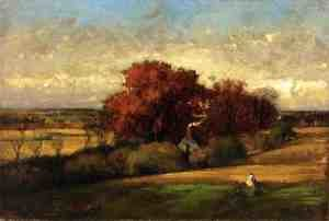 Reproduction oil paintings - George Inness - The Old Oak