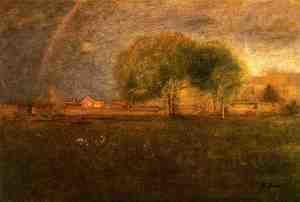 Reproduction oil paintings - George Inness - Montclair