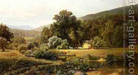 Summer in the Blue Ridge by Hugh Bolton Jones - Reproduction Oil Painting