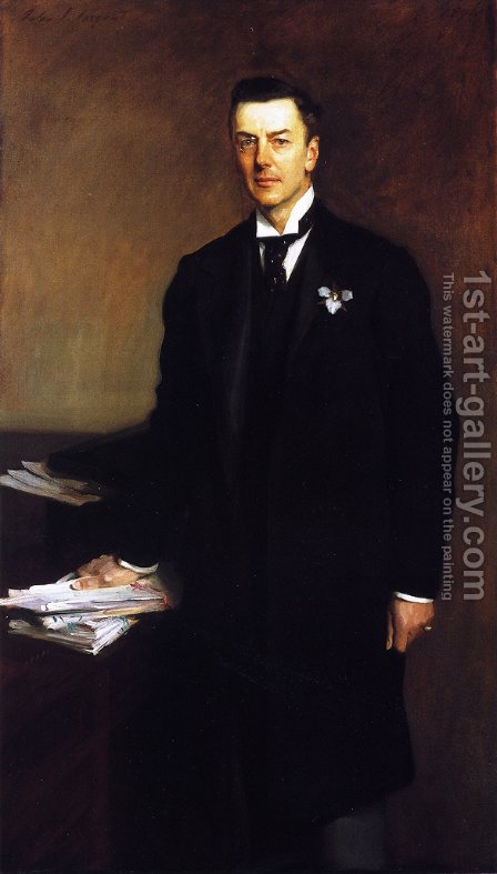Sargent: The Right Honourable Joseph Chamberlain - reproduction oil painting