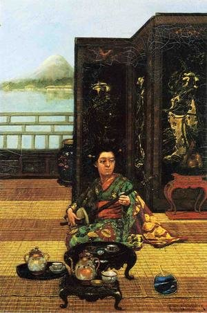 Famous paintings of Teapots: Tea Ceremony