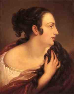 Reproduction oil paintings - Rembrandt Peale - A Roman Lady