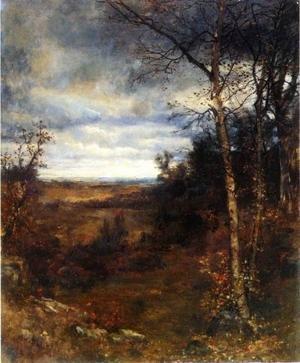 Famous paintings of Seasons: Fall Landscape