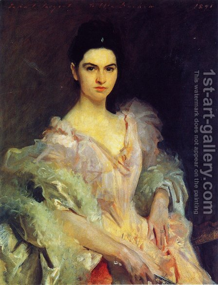 Etta Dunham by Sargent - Reproduction Oil Painting