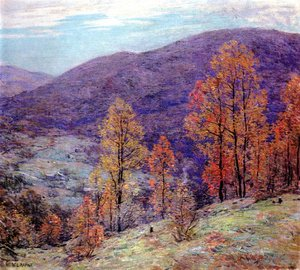 Willard Leroy Metcalf reproductions - Autum Glory