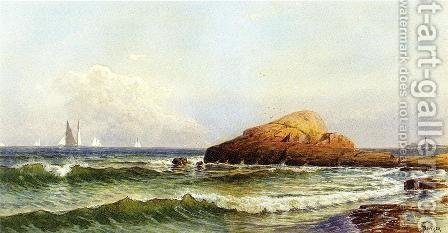 Little Bass Rock, Narragansett Pier by Alfred Thompson Bricher - Reproduction Oil Painting