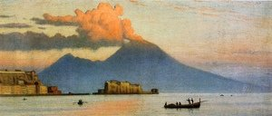 Ernest Wadsworth Longfellow reproductions - Vesuvius Before Eruption