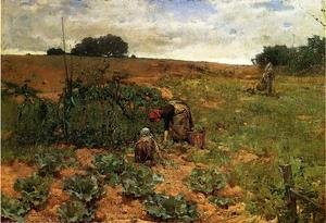 Famous paintings of Fireworks: Cabbage Pickers