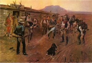 Famous paintings of Wild West: The Tenderfoot